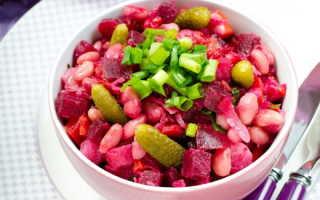 Винегрет без капусты — полезный и вкусный. Пошаговый рецепт с фото