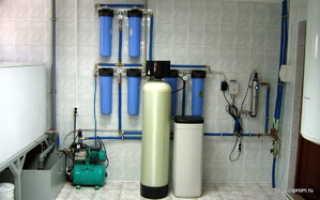 Грунтовая вода из скважин и способы её очистки