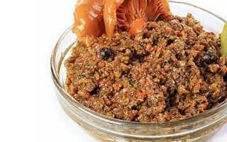 Икра из рыжиков на зиму: рецепт с чесноком, из замороженных или свежих рыжиков