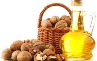 Грецкий орех, масло грецкого ореха