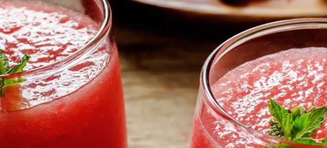 Арбузный сок: польза и вред, особенности применения и приготовления