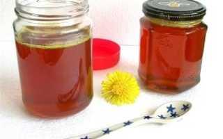 Как сварить мед из одуванчиков в домашних условиях