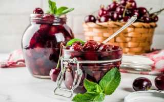 Густое вишневое варенье без косточек, с косточками: вкусные и простые рецепты на зиму