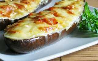 Баклажаны с мясом, рецепты быстро и вкусно в духовке, с сыром и чесноком: рецепт с фото пошагово