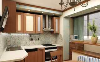 Как правильно объединить лоджию, или балкон, с кухней