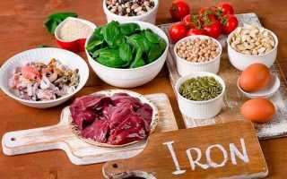 В каких овощах и фруктах содержится железо: 6 основных источников