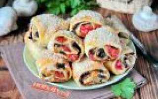 Выпечка из слоеного теста: рецепты с фото, пирожки в духовке из дрожжевого теста, сладкие булочки, начинка с луком, творогом