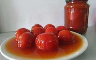 Давайте вместе заготовим на зиму помидоры в томатном соку