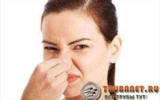 Запах канализации в доме — причины и лучший способ устранения