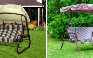 Как выбрать садовые качели для дачи?