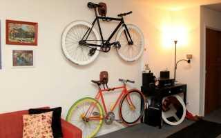 Как зимой хранить велосипед на балконе зимой